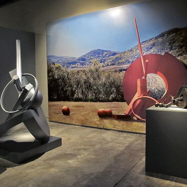 Fletcher Benton Museum Exhibition