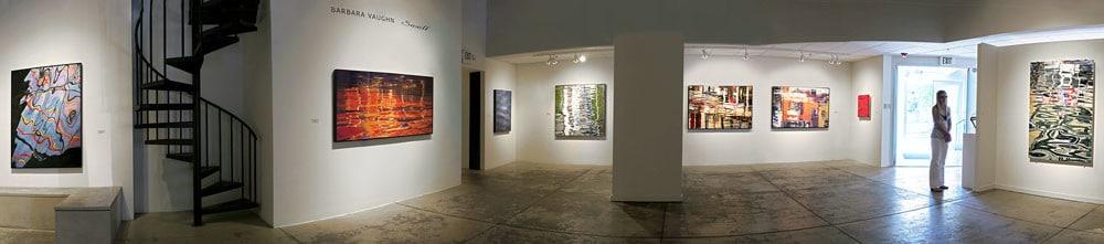 Barbara Vaughn Exhibition Panorama