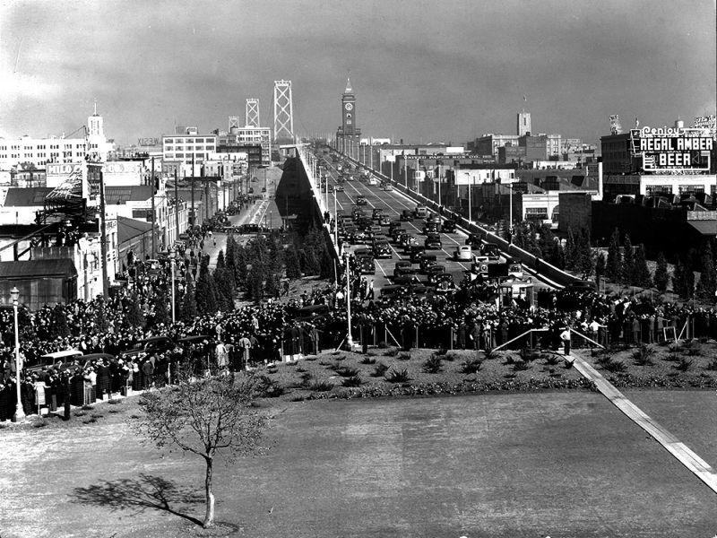 Moulin Studios Historical Black and White Photo Print of San Francisco City Scape