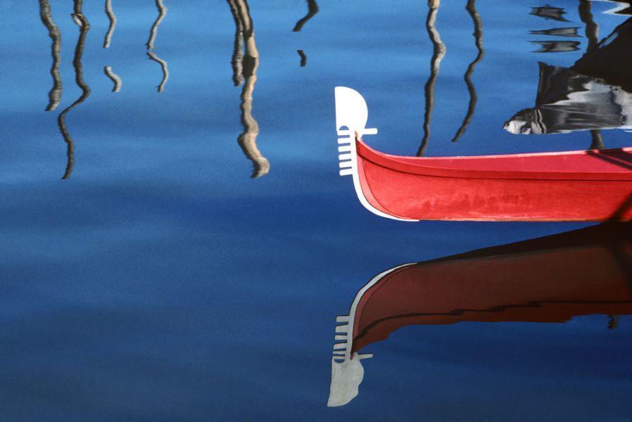 "Roberto Soncin Gerometta photo for ""Venice Reflections"" - Red Gondola"