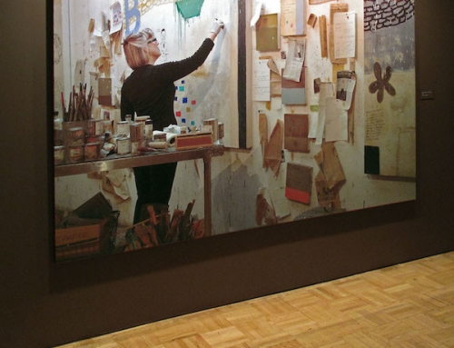 """Squeak Carnwath """"Painting is No Ordinary Object"""""""