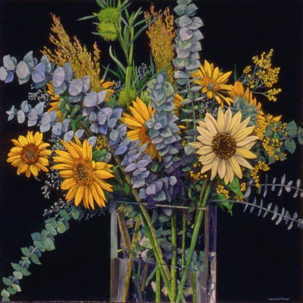 Woody Payne Still Life With Flowers in Vase