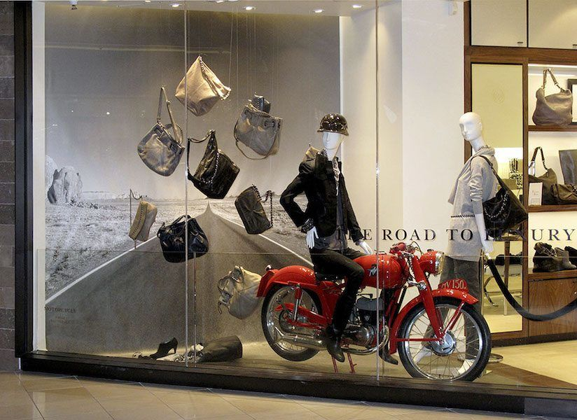 Store Window Display for Editions By Banana Republic