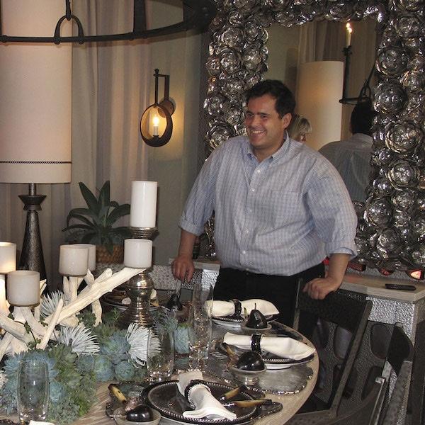 Picture of Designer Gil Mendez at Designer Showcase