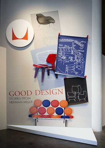 Herman Miller Exhibition Title Wall