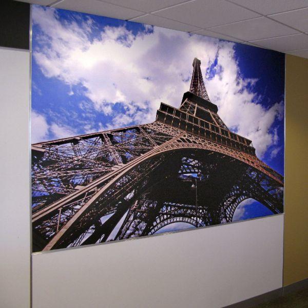 Hotwire Office Wall Mural - Eiffel Tower