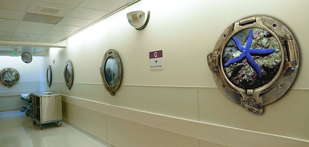 Lucille Packard Children's Hospital Wall Art
