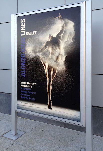 Promo Display for Lines Ballet