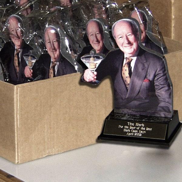 Print and Laminated Mayor of SF Award Statues