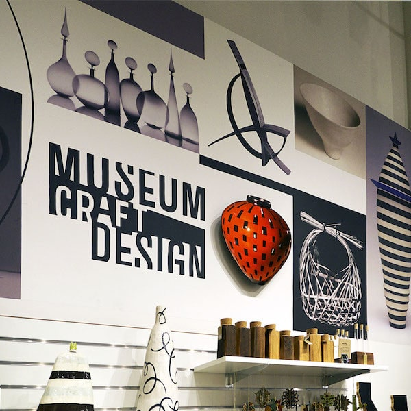 Gift Shop Murals for Museum of Craft and Design