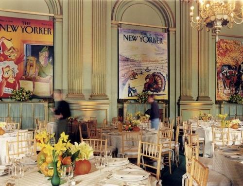 Stanlee Gatti Design for New Yorker Event