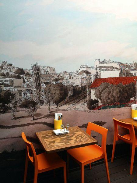 Paul Madonna Mural for Tacolicious restaurant