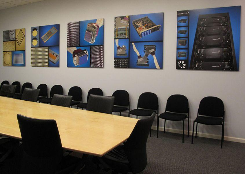 Product Murals for GG Technologies Boardroom
