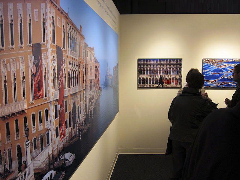 "Photo of Roberto Soncin Gerometta Exhibition ""Venice Reflections"""