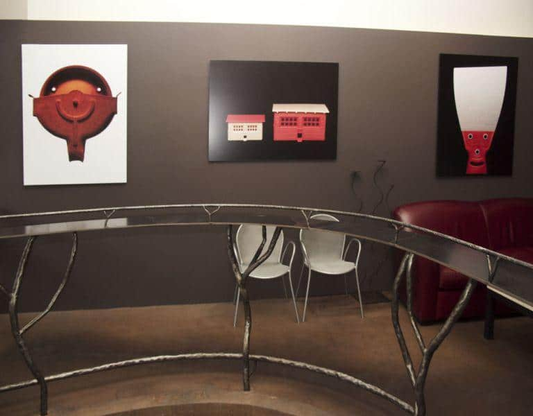 Photographic Art Prints for Red and White Wine Bar