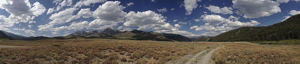 Panoramic Photo of Landscape