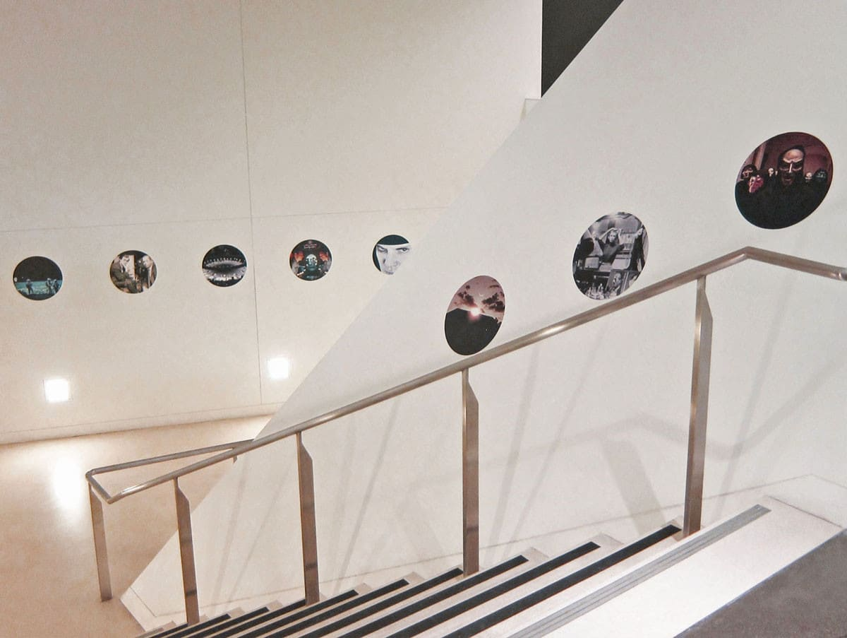 Kubrick circles of Films at The CJM exhibition