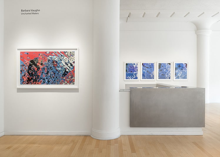 At Barbara Vaughn Unchartered Waters Exhibition