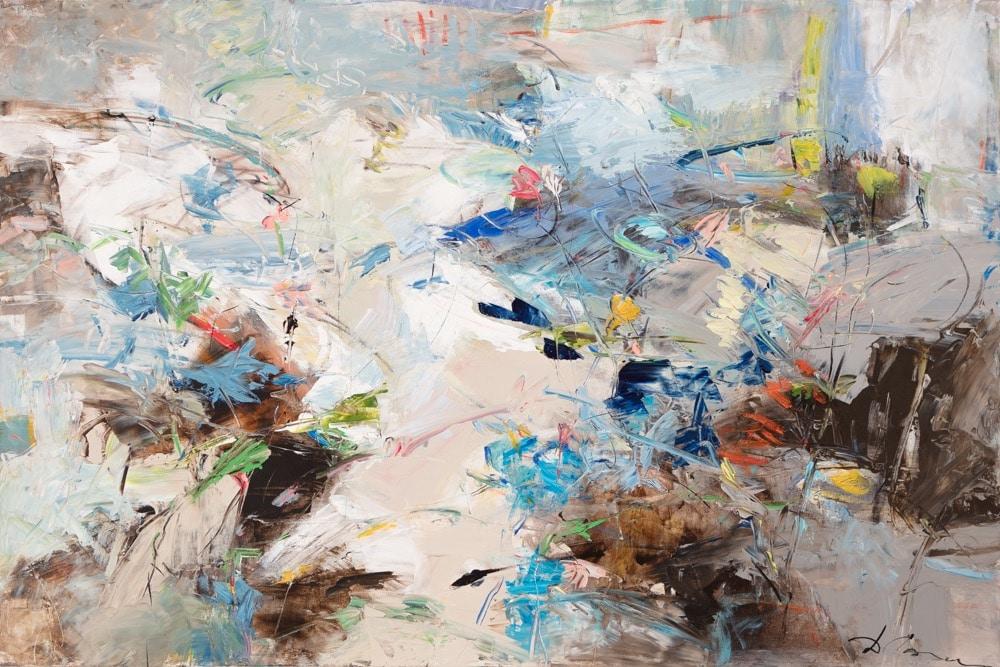 Dominique Caron Abstract Art Oil