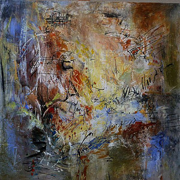 Dominique Caron Abstract Painting